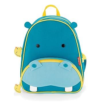 Skip Hop - Mochila para Niños Pequeños de Zoológico, Hipopótamo de Color: Hipopótamo, para Infantes, Bebés, Niños: Amazon.es: Bebé