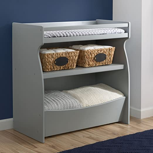 Delta Children 2-in-1 Changing Table and Storage Unit