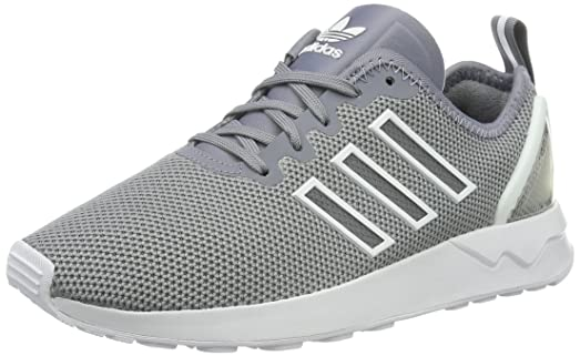 0d35ec2446036 czech adidas originals mens zx flux racer trainers us11.5 grey d8401 bc4cf