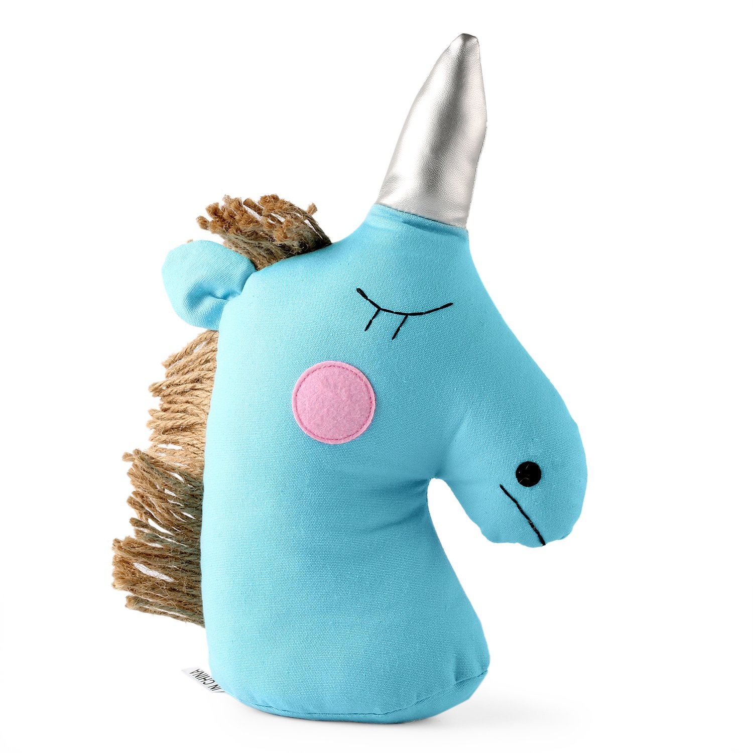 meowtastic Unicorn Stuffed Animal Blue 11.5 Inches Party Favors