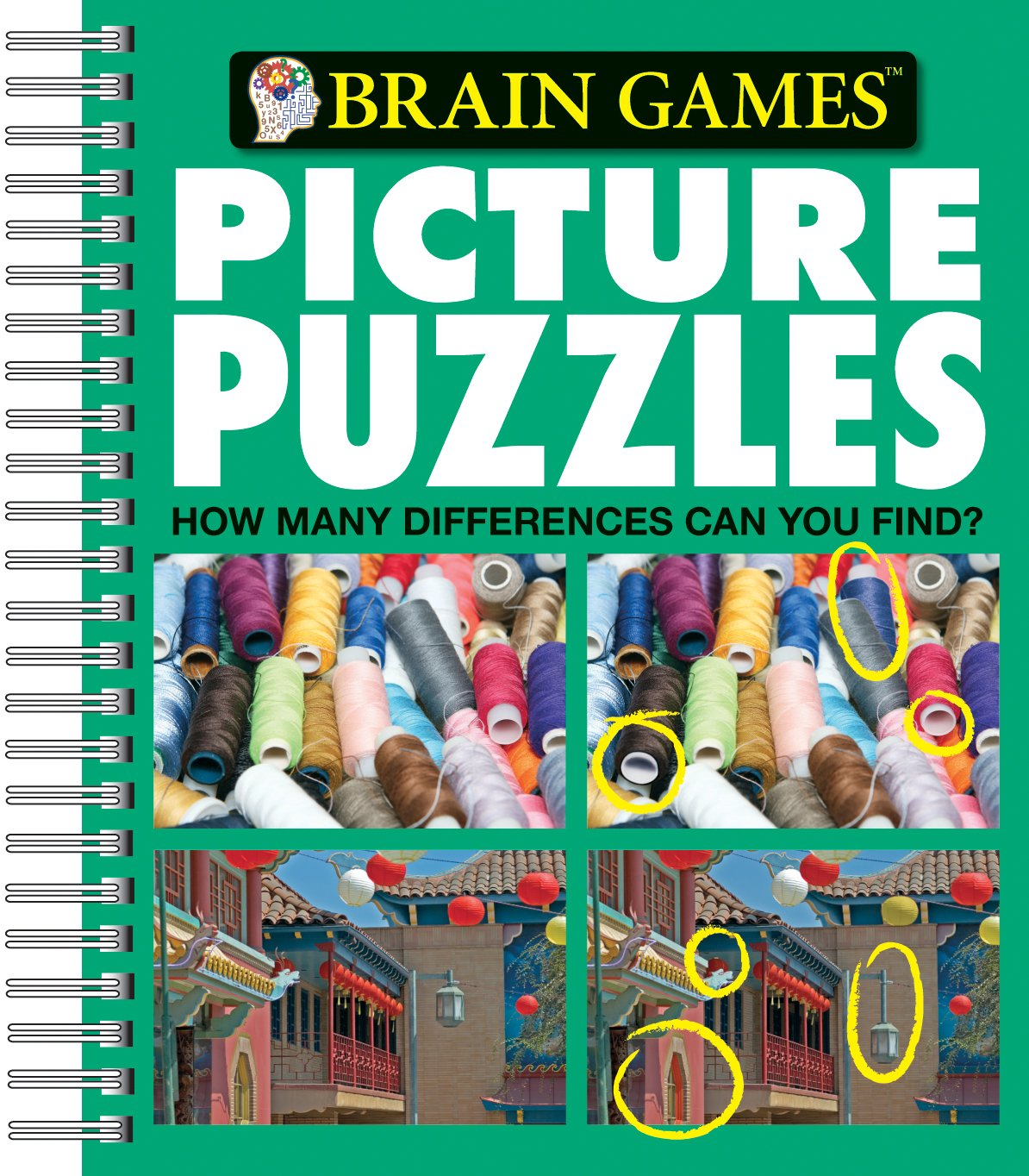 Picture Puzzles Differences Brain Games product image