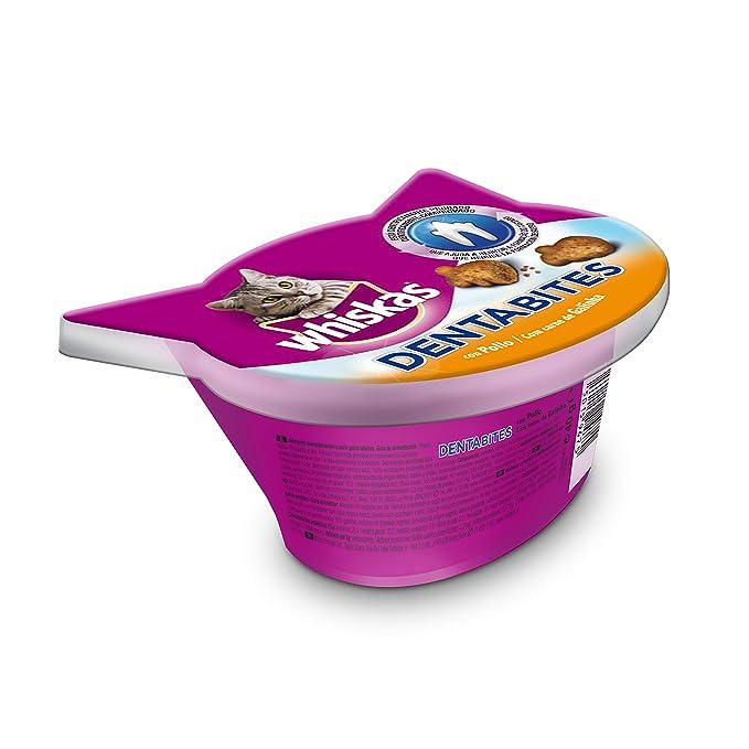 Premios temptations para Gatos de 60g sabor salmón   [Pack de 8]: Amazon.es: Productos para mascotas