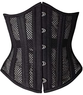 a698e66ef5 Camellias Women s 26 Steel Boned Heavy Duty Waist Trainer Corset Shaper for  Weight Loss