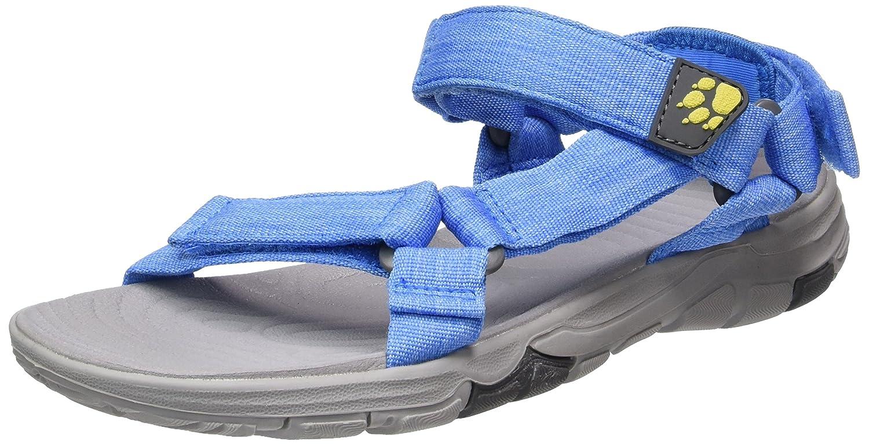 Jack Wolfskin Seven Seas 2 Sandal W, Damen Sport- & Outdoor Sandalen, Blau (Wave Blue), 39.5 EU (6 UK)