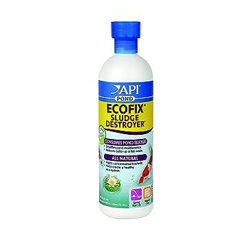 API Estanque Ecofix Lodos Destroyer Extractor de Lodos para Estanque Agua clarificador y Tratamiento: Amazon.es: Productos para mascotas