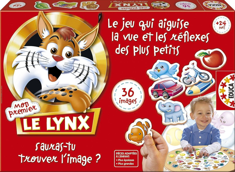 15492 36 Images Mon Premier Lynx Jeu de R/éflexion Educa
