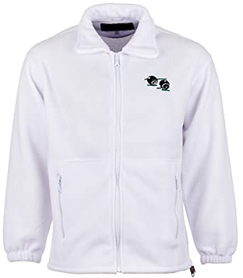 Anti Pill Fleece Bowling Jacket With Embroidered Bowls Bowlers Logo:  Amazon.co.uk: Clothing