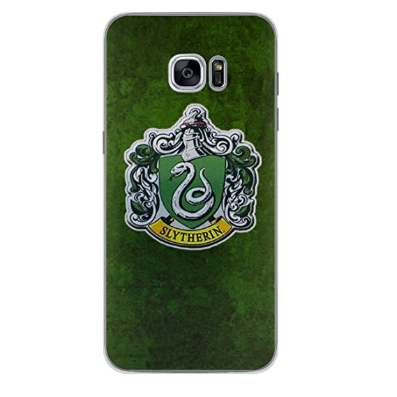 size 40 5143c 5eb01 Galaxy S7 Edge Harry Potter Houses Silicone Phone Case / Gel Cover for  Samsung Galaxy S 7 Edge (S7 Edge/G935) / Screen Protector & Cloth / iCHOOSE  / ...