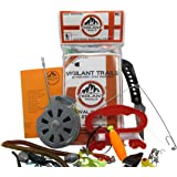 Vigilant Trails Pocket Survival Fishing Kit Stage 3. Includes Both Passive & Active Means to Catch Fish
