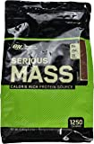 Optimum Nutrition Serious Mass Weight Gainer Whey Protein Powder with Vitamins, Creatine and Glutamine. Protein Shakes by ON - Chocolate, 16 Servings, 5.45kg