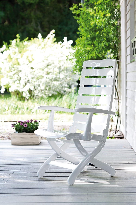 Kettler Hks Tiffany - Sillón, Color Blanco: Amazon.es: Jardín