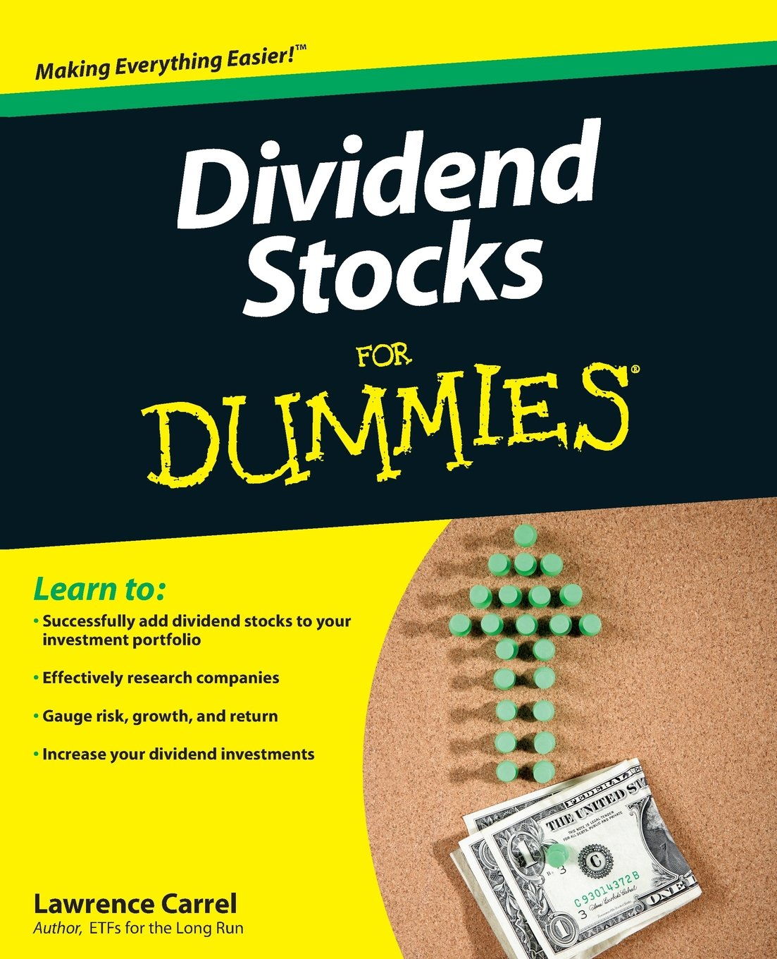 Dividend Stocks Dummies Lawrence Carrel product image