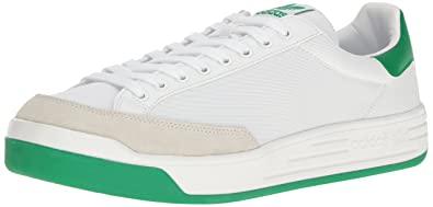 a97093e35970 adidas Originals Men s Rod Laver Super Running Shoe White Fairway