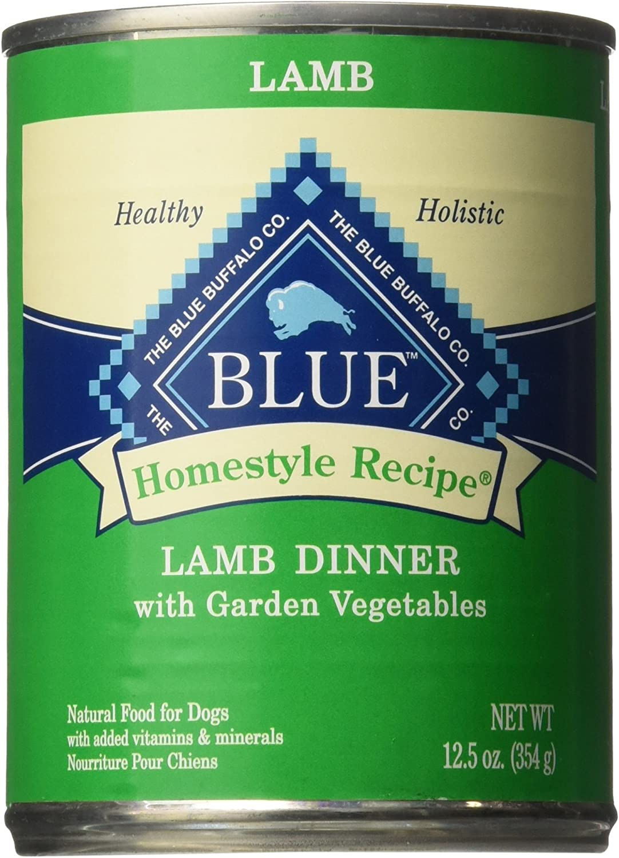 Blue Buffalo Homestyle Recipe Lamb Dinner - 12X12.5 Oz