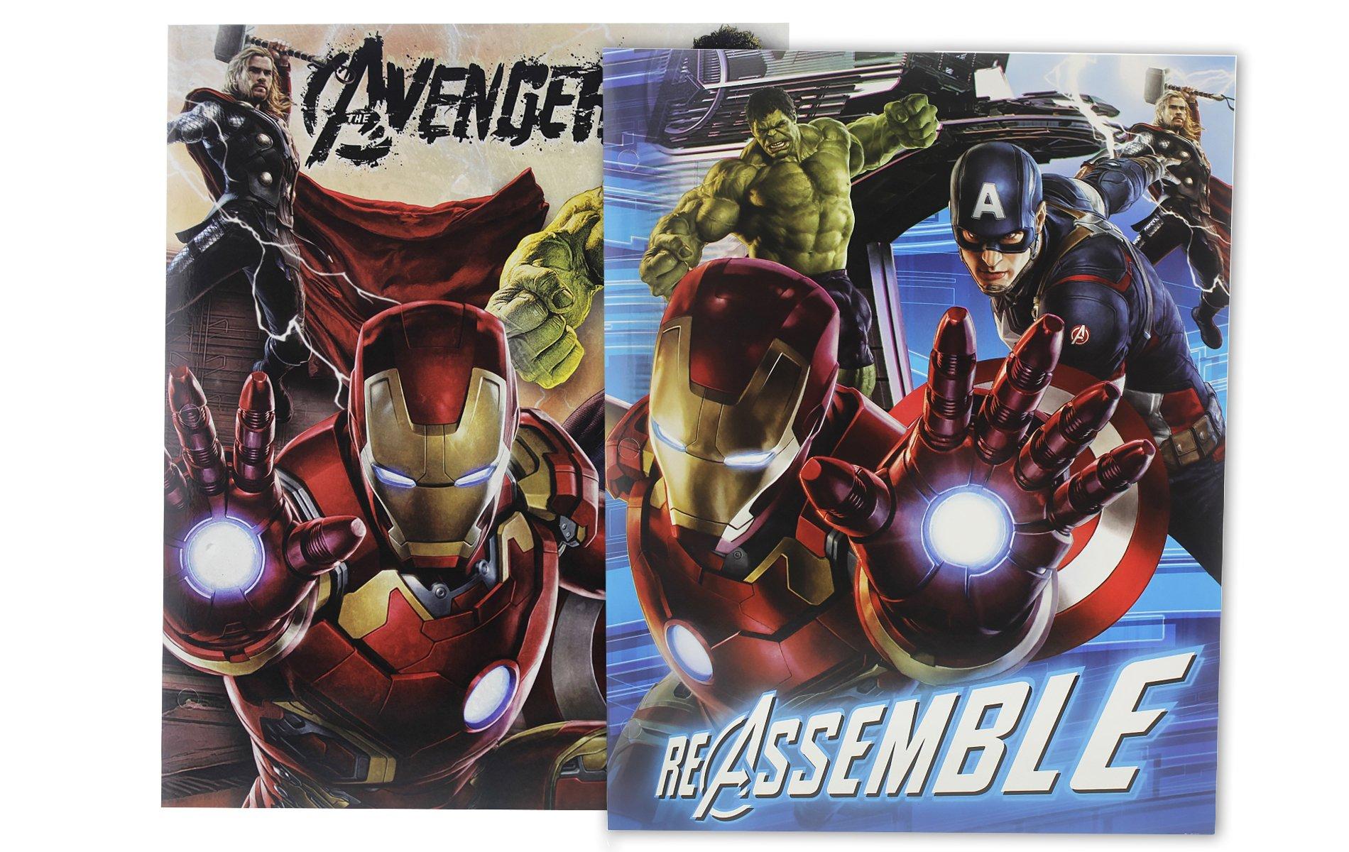 Avengers 2-pocket Portfolio Folder (Pack of 2 Assorted Colors)