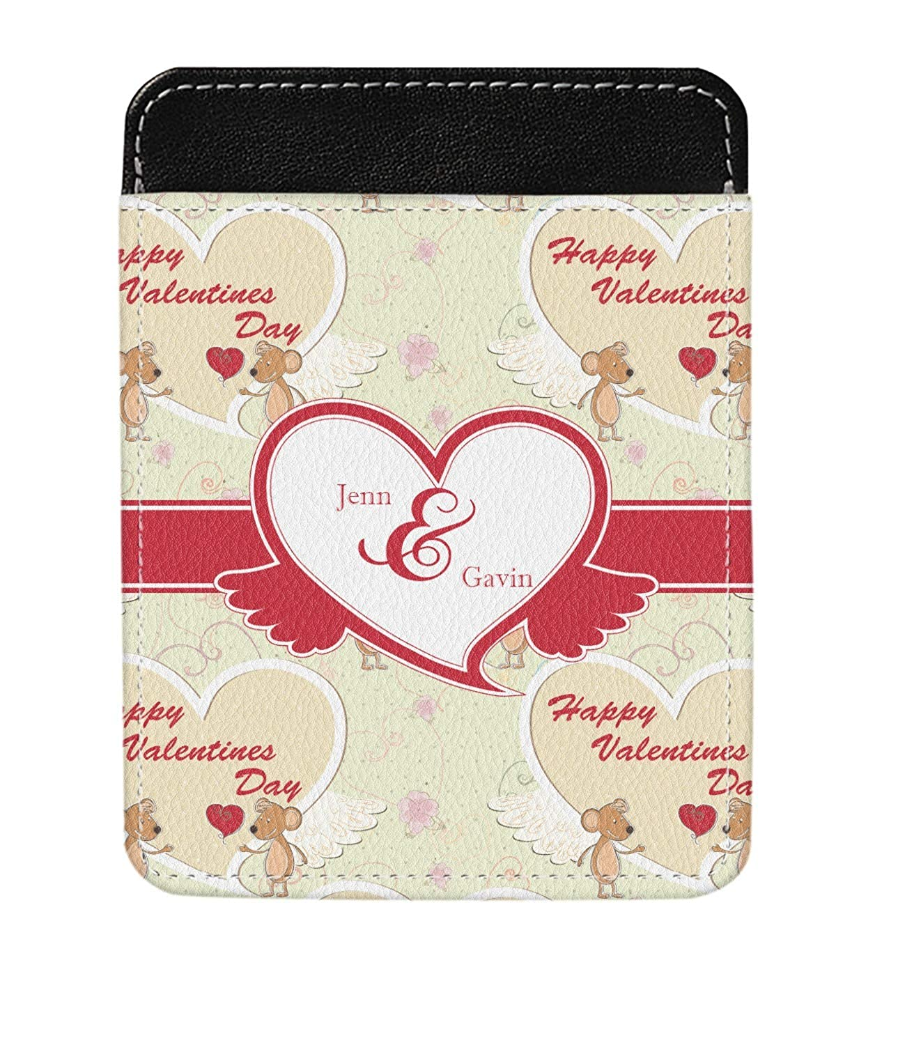 Personalized Mouse Love Genuine Leather Money Clip