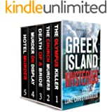 Greek Island Mysteries Pentalogy: A box set of five riveting and compelling mysteries destined to shock you!