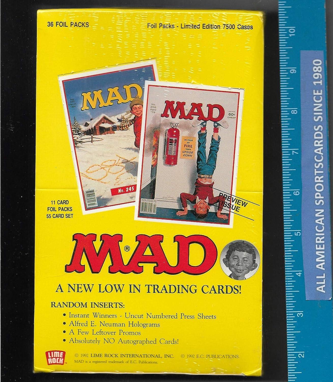 Mad Magazine Trading Card Basic Set Series 1