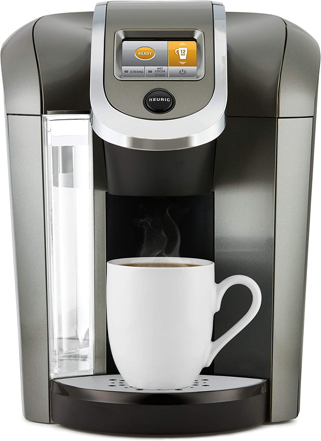 Keurig K500 Coffee Maker, Single Serve K-Cup Pod Coffee Brewer, Programmable Brewer, Black (Renewed)