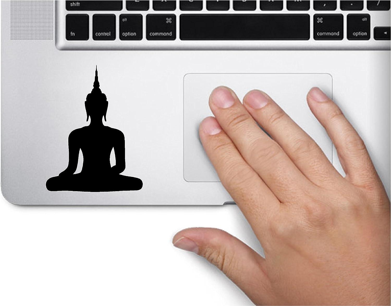 Buddha Statue Symbol Decal Funny Laptop Skin MacBook Trackpad Keypad Sticker Window