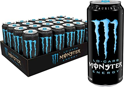Monster Energy, Lo-Carb, 16 Ounce (Pack of 24): Amazon.es ...