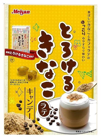 Harina de caf? con leche caramelos bolsas 72gX6 que se funde la industria de Meiji