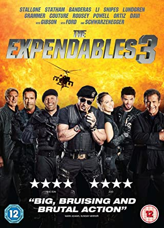 The Expendables 3 [DVD] [2017]: Amazon co uk: Sylvester