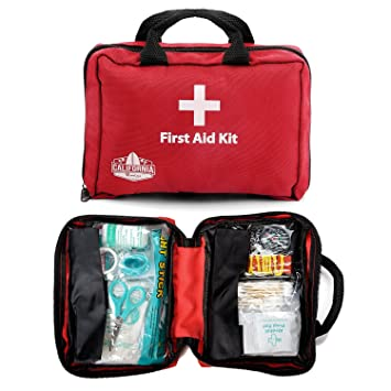 California Basics 115 Piece All Purpose First Aid Kit For Emergency At Home Workplace