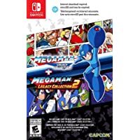 Mega Man Legacy Collection 1 + 2 SWITCH