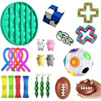 24 Pack Sensory Fidget Toys Set, Relieves Stress and Anxiety Fidget Toy, Stress Relief Hand Toys for Kids and Adults