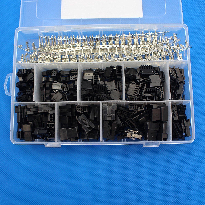 Signstek Crimpadora para conector KF2510 de 2,54 a 3,96/mm, capacidad de 0,1 a 1/mm/²