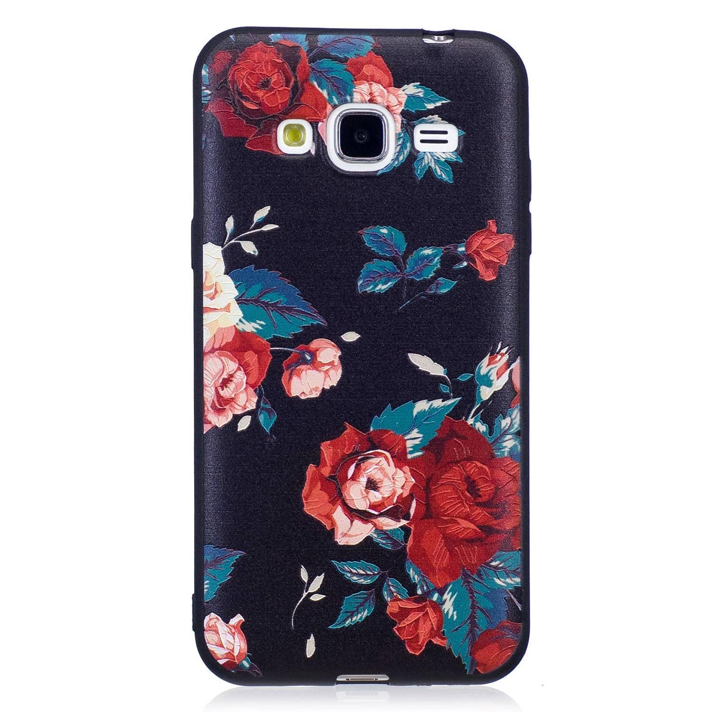 Guran® Carcasa Silicona TPU Protectora Funda Case para Samsung Galaxy J3 2015/2016 J310 Smartphone Bumper Shock Cover Caso: Amazon.es: Electrónica