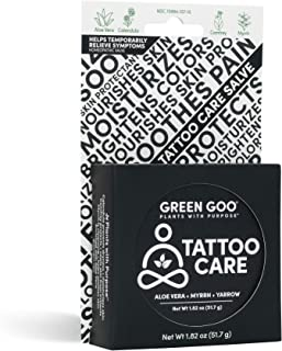 product image for Green Goo Natural Skin Care Salve, Large Tin, Tattoo Care 1.82 Ounce