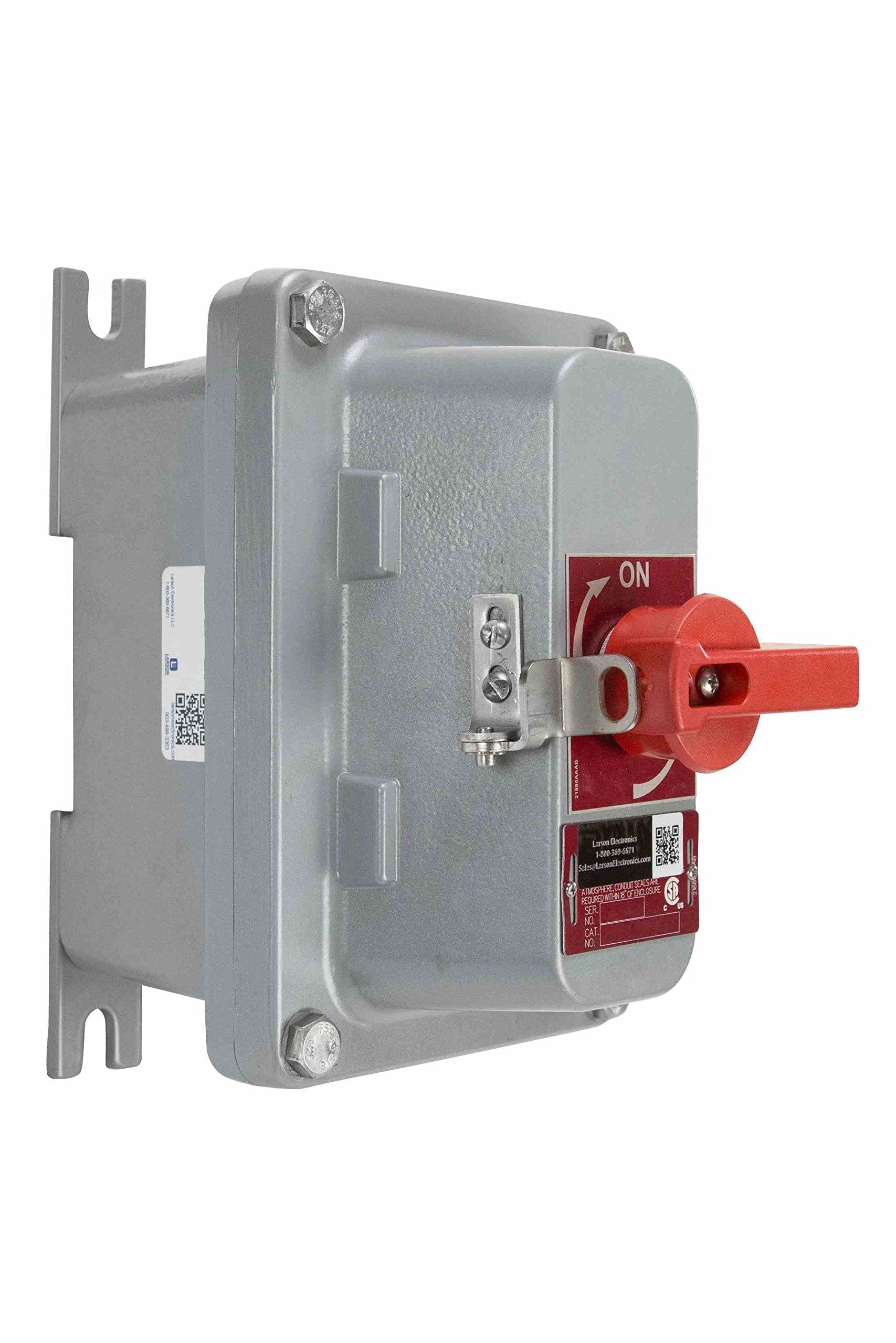 Three Phase Explosion Proof Switch - Non Fused - 20 Amps - Lock Out / Tag Out
