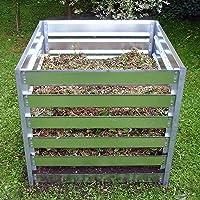 FARMERS FUN Metall Komposter | feuerverzinkt | beliebig erweiterbar durch Stecksystem