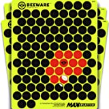 """BEEWARE - 1000 Adhesive Splatter Target Stickers - Cover Up Patches for Shooting Targets - ¾ """" Reactive Peel and Stick Pasters - Rifle - Pistol - Air Rifle - 22 - Pellet - BB Gun - Airsoft Practice"""