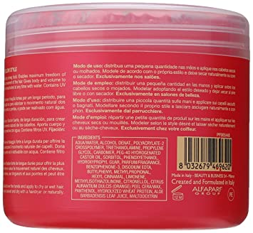 Amazon.com : Alfaparf Yellow Style Fixing Gel for Unisex, 16.9 Ounce : Hair Care Styling Products : Beauty