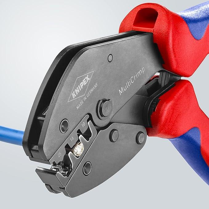 Knipex 97 33 02 Sistema crimpar, Azul, Rojo, 5: Amazon.es: Bricolaje y herramientas