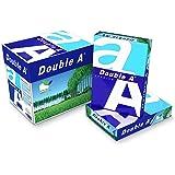 Durable Double A - Papel para fotocopiadora (tamaño A4, 80 g/m², 1000 hojas), color blanco