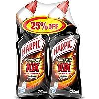 Harpic Toilet Cleaner Liquid Power Plus Original Twin Pack, 750ml 30 Percent OFF