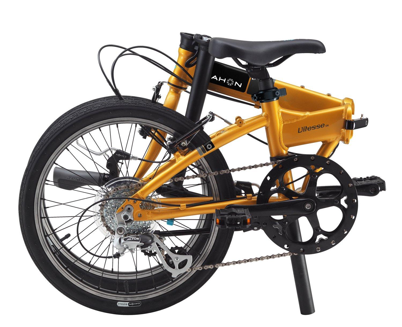 Dahon vitesse D8 plegable bicicletas, color amarillo, tamaño unisex: Amazon.es: Deportes y aire libre
