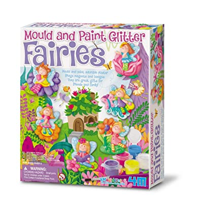 Great Gizmos 4M - Mould & Paint Glitter Fairy (004M3524): Juguetes y juegos