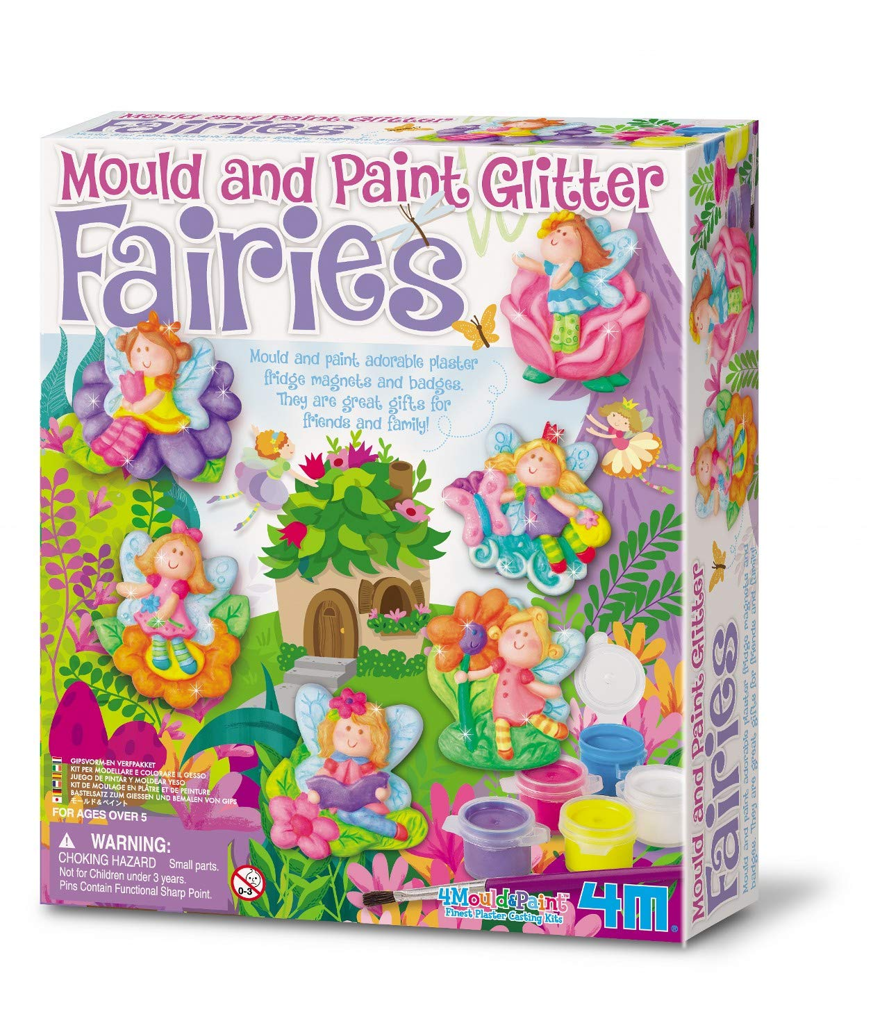 Great Gizmos 4M - Mould & Paint Glitter Fairy (004M3524) product image