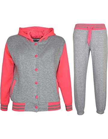 Leisure Set Gold NEW Girls Velour Lounge Wear Silver 7,8,9,10,11,12,13 Years
