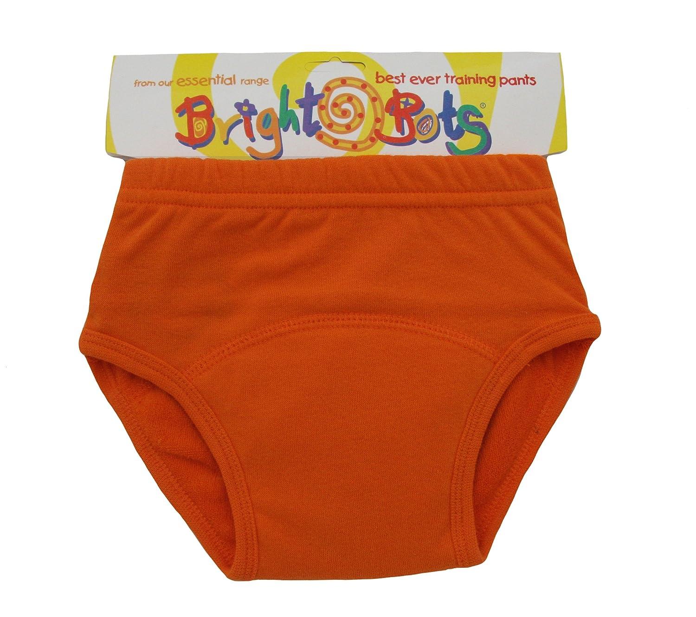 Bright Bots Washable Potty Training Pants Orange, Large, 24-30 Months
