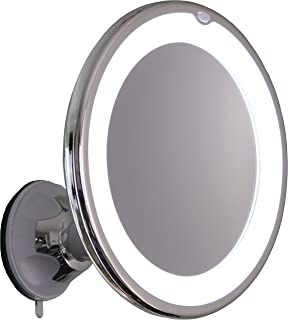 Amazoncom 7x Lighted Makeup Mirror With Locking Suction Mount And