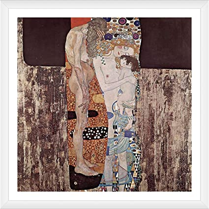 various sizes Klimt fine art giclee print poster The Three Ages of Woman