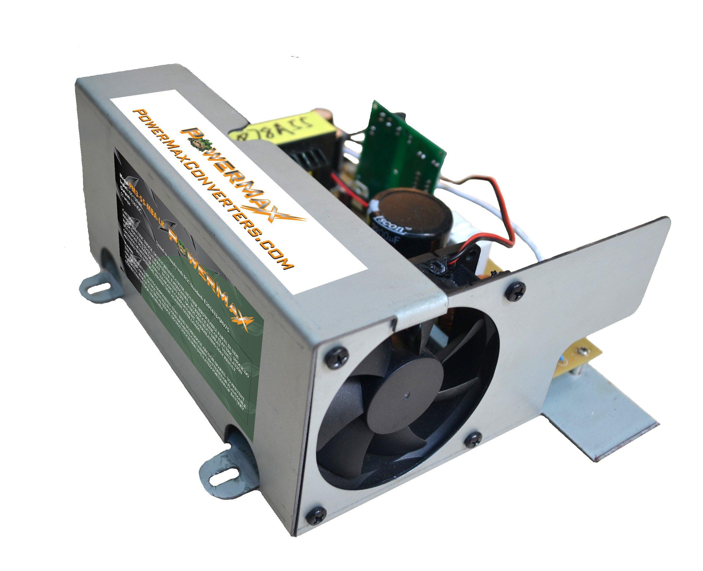 PowerMax PM4 55A MBA 55 Amp RV AC to DC Converter