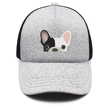 French Bulldog Snapback Adjustable Baseball Cap