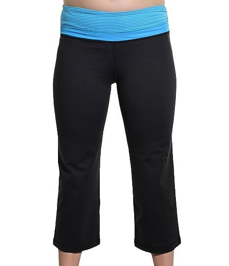 Kirkland Signature Reversible Yoga Capri Pants - Blue at ...